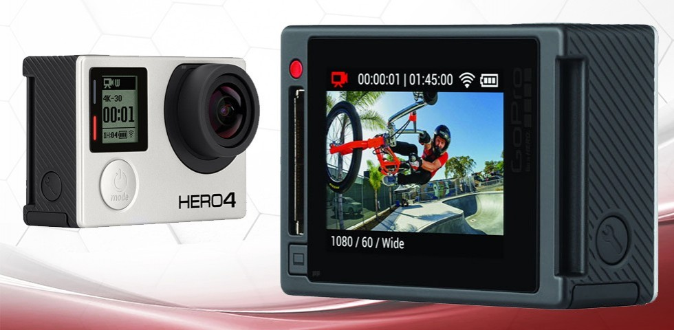 La GoPro Hero4 arrive en octobre